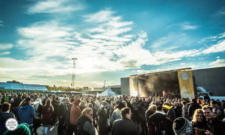 All night long … Iceland's Secret Solstice festival.