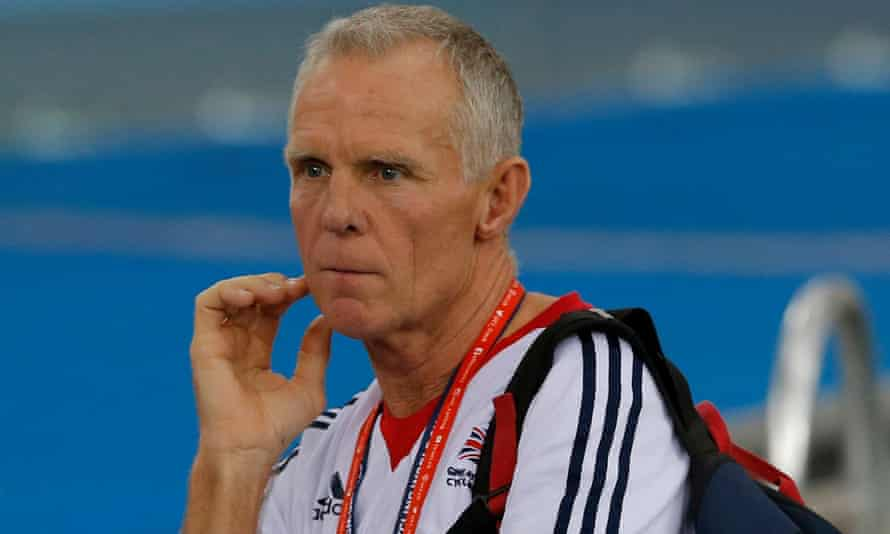Shane Sutton during March's world track championships in March, where Jess Varnish failed to qualify for Rio.