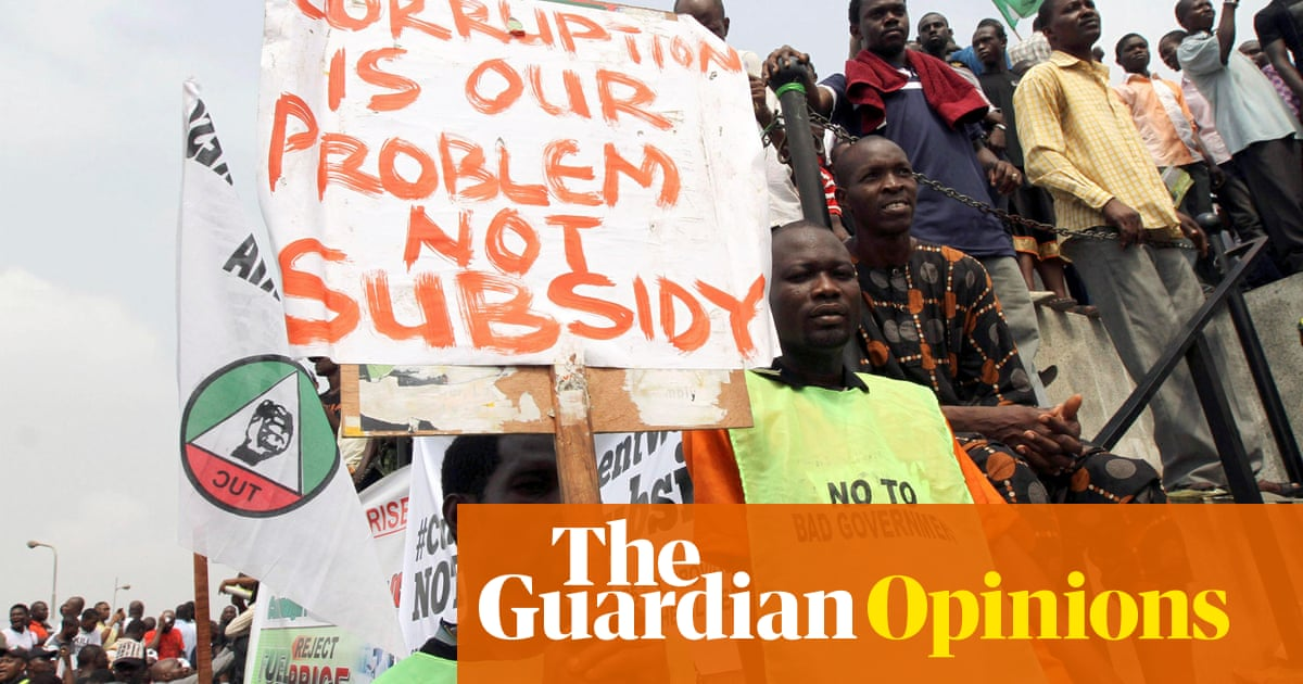 How Nigerian 'corruption' is a cautionary tale for the UK