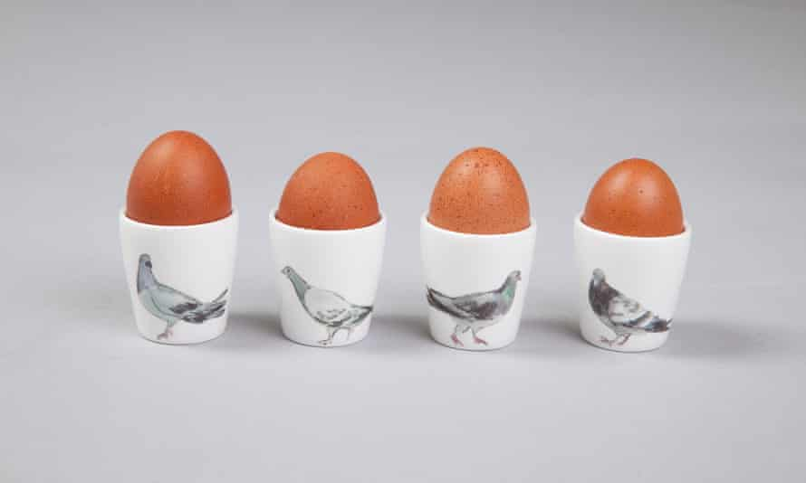 Ceramic egg cups.