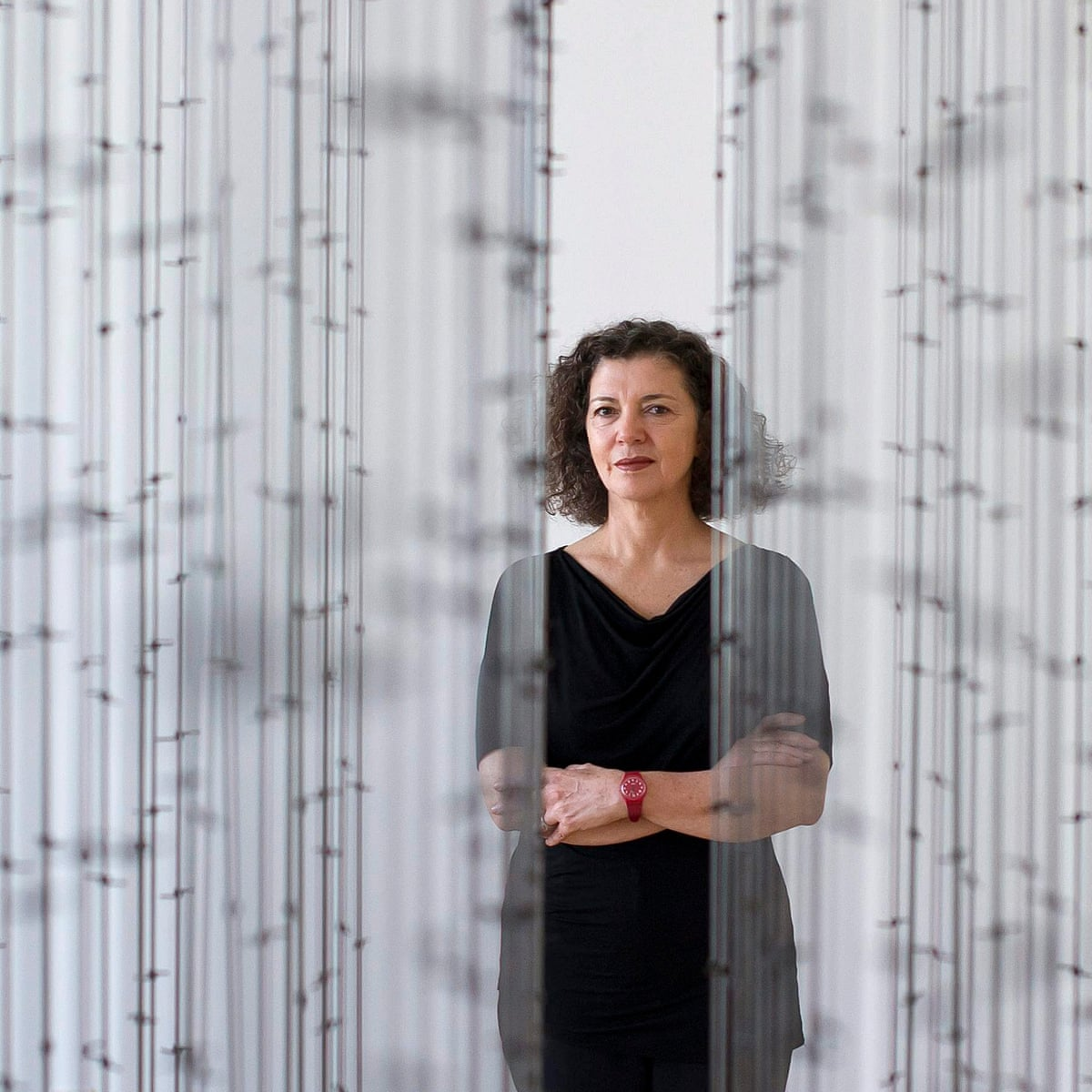 Mona Hatoum: 'Each person is free to understand what I do in the light of  who they are and where they stand'   Art and design   The Guardian