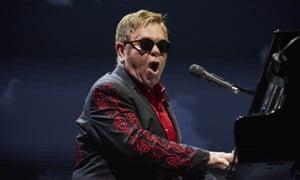 Elton John in concert at Meo Arena, Lisbon, Portugal - 11 Dec 2016