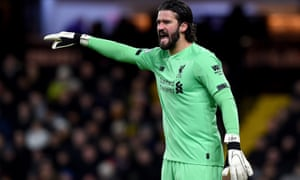 Alisson Becker will not face Bournemouth and is a doubt for the Champions League game with Atlético Madrid.