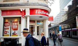A Ladbrokes betting shop in Birmingham
