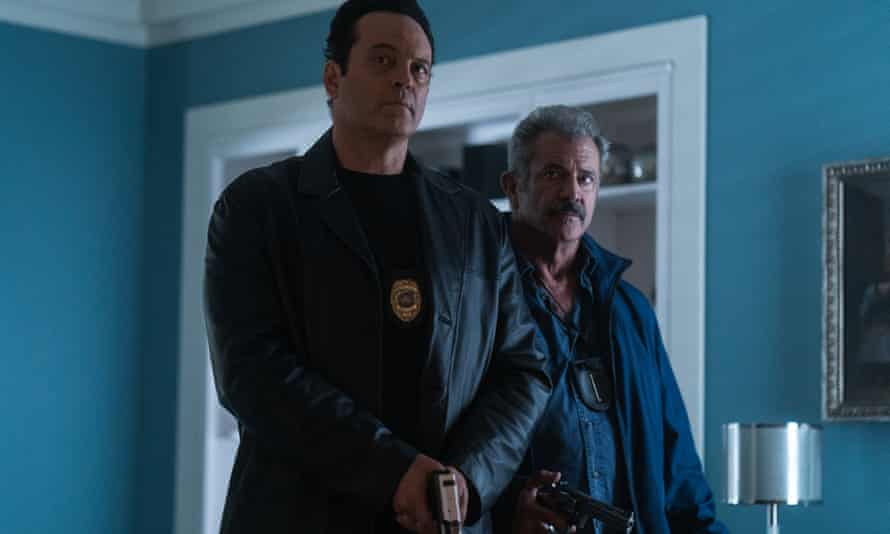 Gritty thriller … Vince Vaughn and Mel Gibson in Dragged Across Concrete.