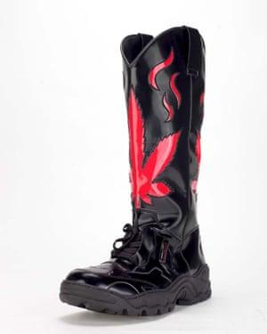 Rombaut's cowboy sneaker boots.