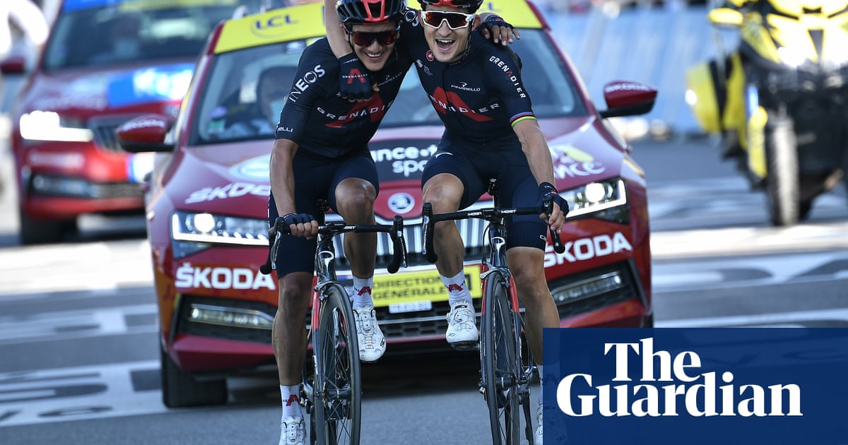 Michal Kwiatkowski wins Tour stage to bring some relief for Ineos