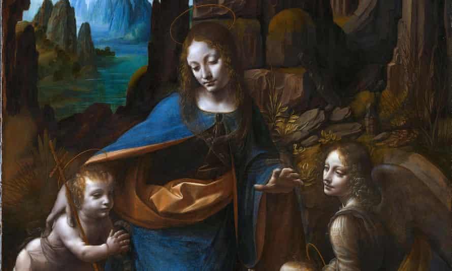 Restoration work on Leonardo da Vinci's the Virgin of the Rocks began in 2008.