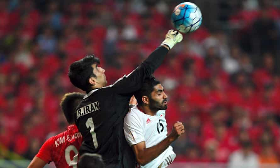 Alireza Beiranvand turned down the chance to speak to Ali Daei when the legendary striker visited his car wash. 'I was ashamed to speak with him,' he says.