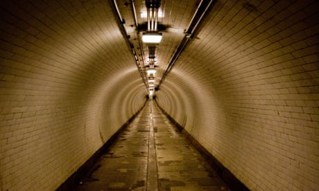 The time anomaly of the Woolwich foot tunnel and other portals of London