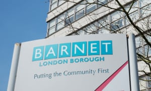 The London borough of Barnet reduced its headcount by 90% through outsourcing.