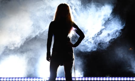 Britney Spears at Park MGM in Las Vegas last week
