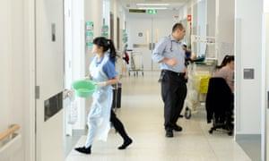 A ward at Liverpool hospital