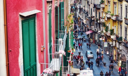 Naples, where 'troubling passions and moral ambiguity stalk characters' in Elena Ferrante's novels