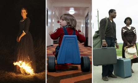 Stills from Portrait of a Lady on Fire, The Shining and Lovecraft Country