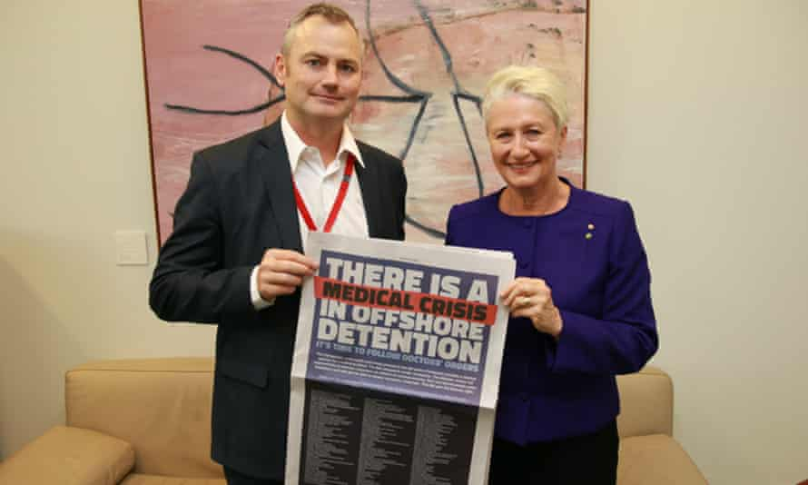 Simon Holmes à Court with former independent MP Kerryn Phelps