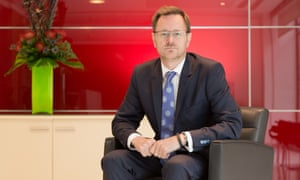 Ashley Highfield sought to put company on a more secure financal footing.