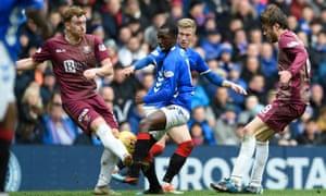 Rangers' Glen Kamara and St Johnstone's Liam Craig