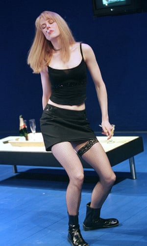 Nicole Kidman in The Blue Room at the Donmar, 1998