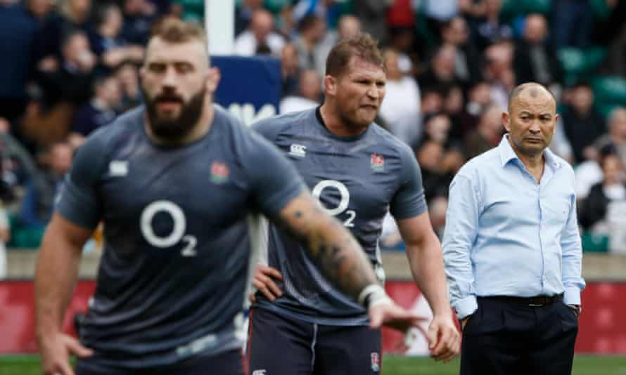 Dylan Hartley, centre, and Joe Marler have been cited along with Nathan Hughes, leaving Eddie Jones with a potentially diminished pack against Argentina.