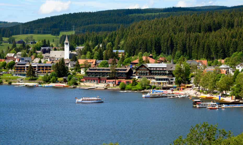 Lake Titisee, Black Forest,