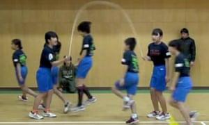 Incredible team-skipping challenge