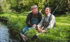 Hooked ... Bob Mortimer and Paul Whitehouse: Gone Fishing.