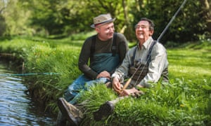 Bob Mortimer and Paul Whitehouse in Gone Fishing, BBC Two