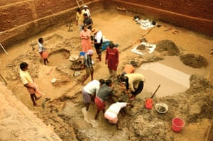 Excavations in the village of Pattanam, Kerala, have raised questions about whether the site is 'urban' enough to be Muziris.