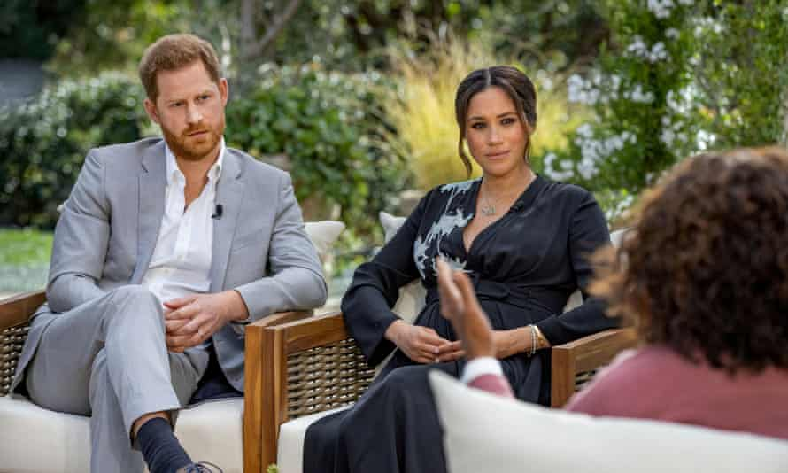 Harry and Meghan talk to Oprah Winfrey