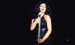 Donna Summer performing in Atlanta in 1978