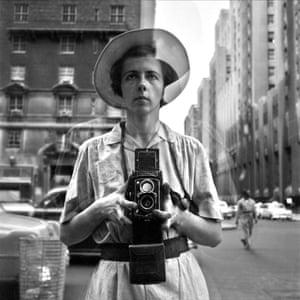 'A provocateur': Vivian Maier in an image taken from the 2013 film Finding Vivian Maier