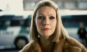 Gwyneth Paltrow as Margot Tenenbaum in The Royal Tenenbaums.