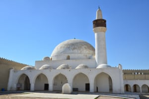 The Qasr Ibrahim mosque in the Al-Ahsa oasis in Saudi Arabia