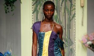 Richard Malone at London Fashion Week