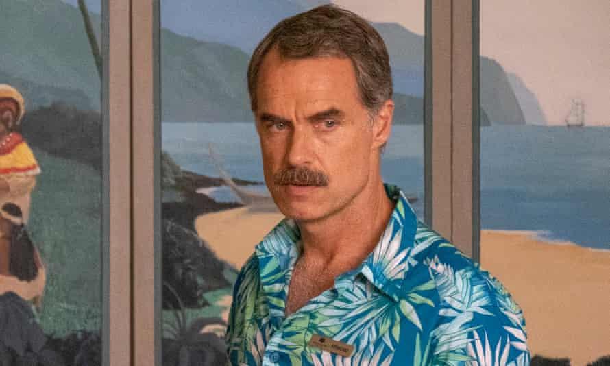 Murray Bartlett as Armond, in a Hawaiian shirt