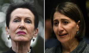 Lord mayor of Sydney Clover Moore is furious after the NSW premier NSW Gladys Berejiklian ordered a speedy review of planning controls in Pyrmont, where the state government's own planning department has blocked the development of a 62-storey tower on top of Star casino tower.