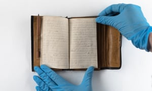 The diary Ward kept during his service on the western front between 1916 and 1918.
