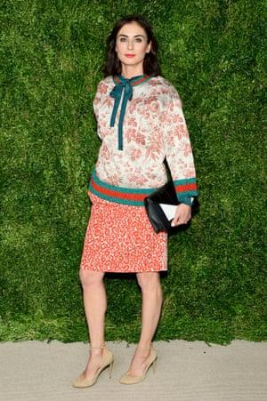 Jewelry designer Francesca Amfitheatrof at the CFDA/Vogue Fashion Fund Awards.