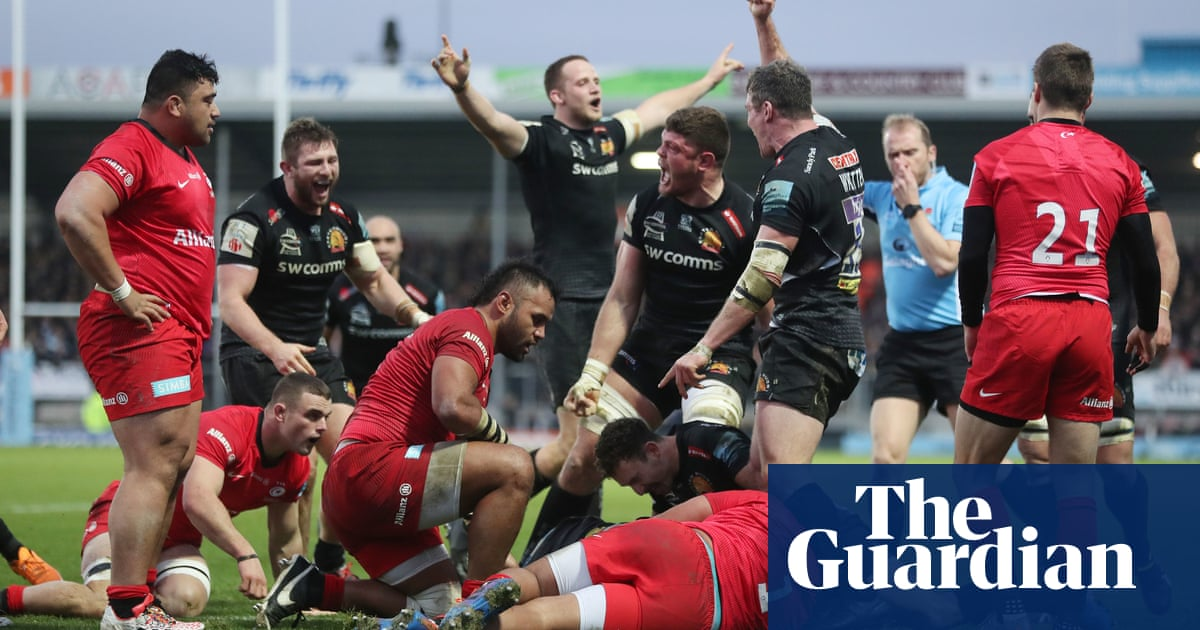 Exeter's defensive masterclass secures victory in Saracens grudge match