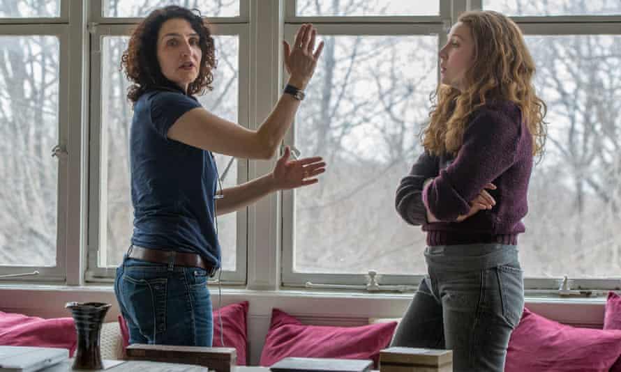 Fertility drama … Tamara Jenkins directing Kayli Carter in Private Life.