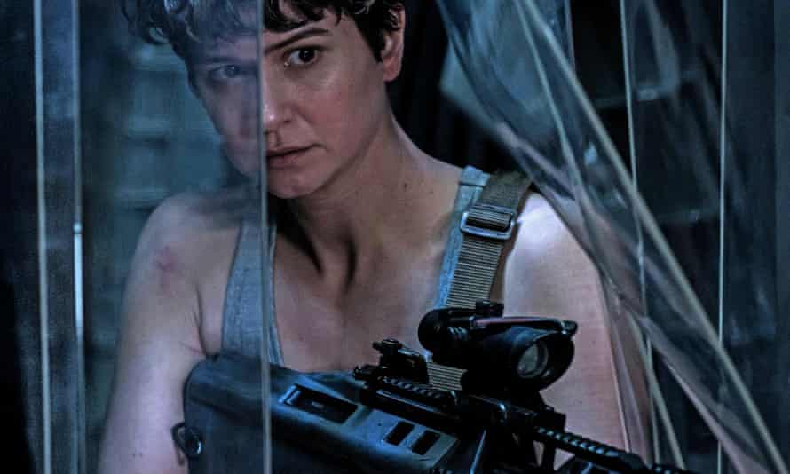 Lost the plot … Katherine Waterson in Alien: Covenant.