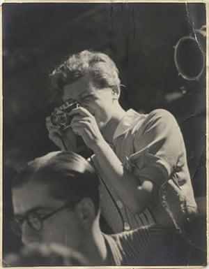 Gerda Taro, taken by an anonymous photographer.