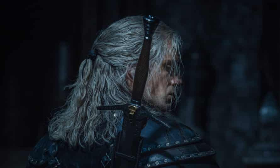 Henry Cavill in season two of The Witcher, which Netflix is filming at Arborfield Studios in Berkshire.