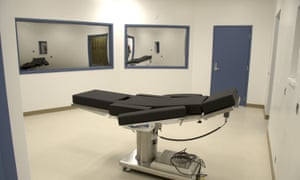 The execution chamber at Ely State prison in Ely, Nevada, which plans to kill Scott Dozier using fentanyl.