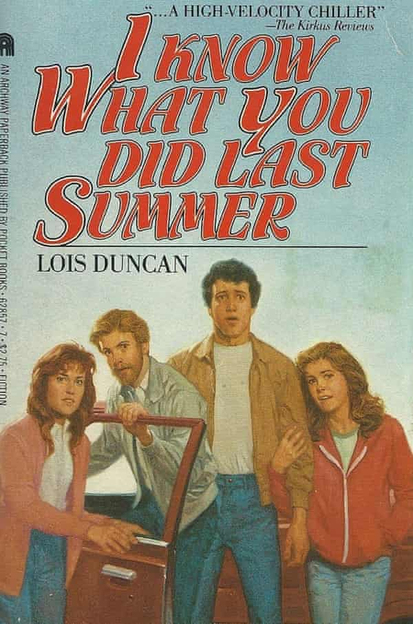 Lois Duncan's I Know What You Did Last Summer (1973), a chilling story about teenagers confronting the truth about their part in a car crash