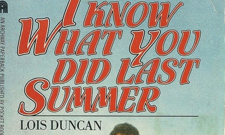 Cover of Lois Duncan's I Know What You Did Last Summer.