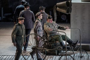The Lyric Theatre of Chicago production of Wozzeck, with set design by Vicki Mortimer, who also designed the costumes