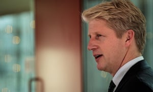 Jo Johnson speaking at a People's Vote event.