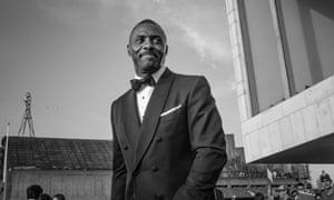 Idris Elba at the Bafta awards in 2016.